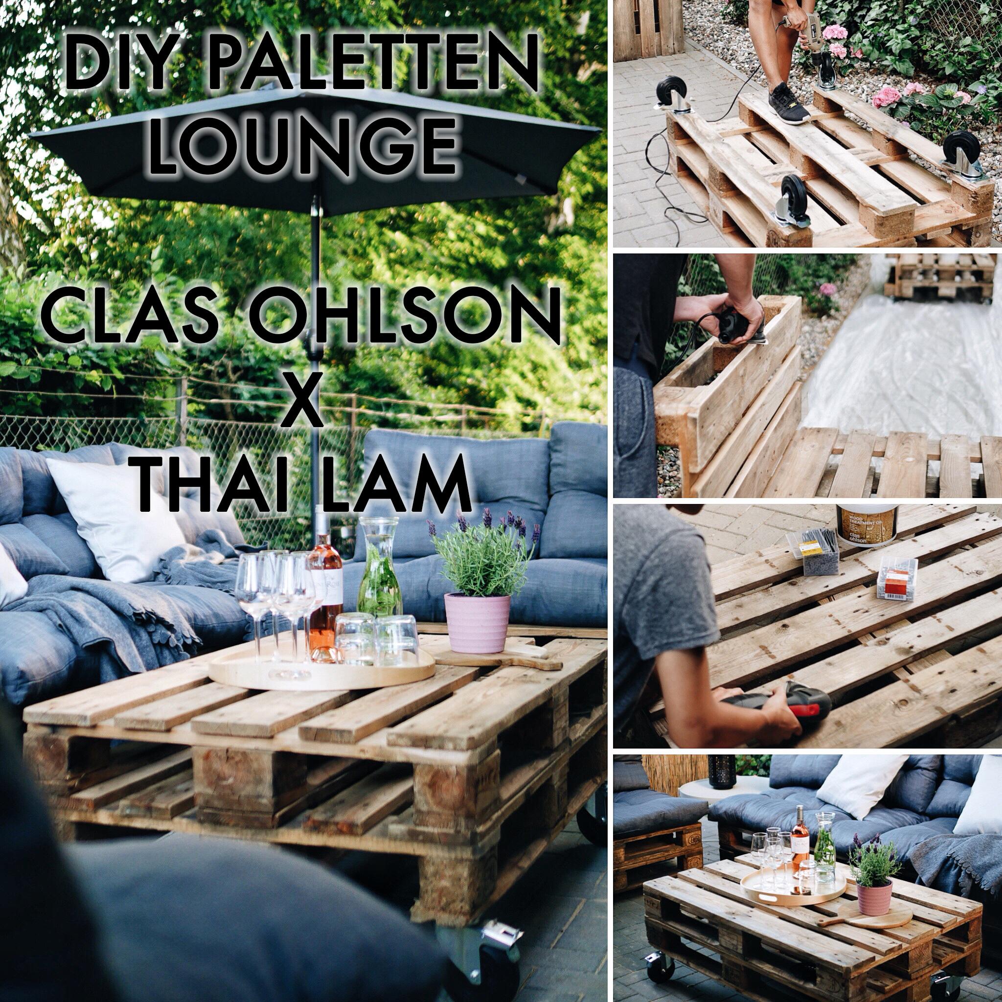 Thai Lam Blog Paletten Lounge Diy Clas Ohlson Thai Lam