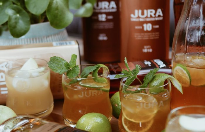 FOOD | JURA WHISKY | TWO SIGNATURE DRINKS