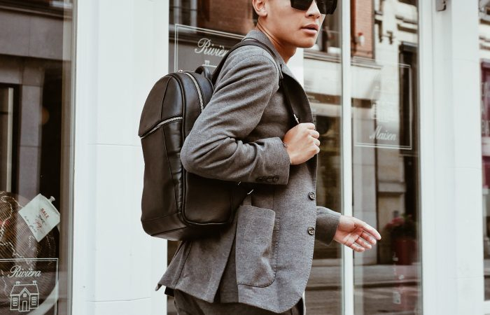Fashion | Chic Style with a Backpack